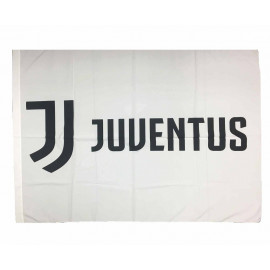 Bandiera Juve bianconera 130x95 cm. Nuovo logo Juventus F.C. PS 04703