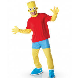 Costume Carnevale Adulto Bart Simpson the simpsons