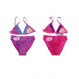 Costume da bagno Disney bimba bikini fuxia o viola Violetta *18064Costume da bagno Disney bimba bikini fuxia o viola Violetta *18064