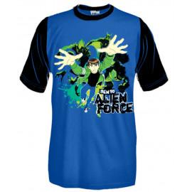 T-Shirt Bimbo Ben10 Alien Force, Maglietta Maniche Corte *15446