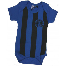 Body Neonato Inter Nero Azzurro Ufficiale Fc Internazionale PS 20974