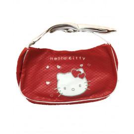 Borsa hello Kitty rossa tracolla bianca Ufficiale Sanrio *05608 pelusciamo