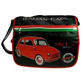 Borsa postina a Tracolla Italian cars since 1957 *11547 pelusciamo