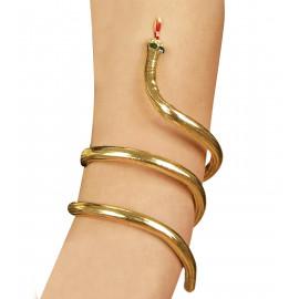 Bracciale serpente da egiziana accessorio Costume Carnevale egizi *11960 pelusciamo store
