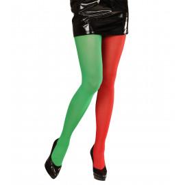 Calze Natalizie Bicolore Per Costume da Elfo