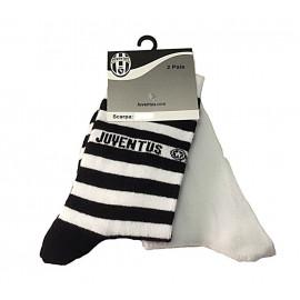 Calze Juve Bambino Ragazzo 2 paia Juventus abbigliamento squadre *01887