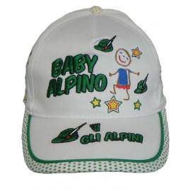 Cappellino Con Visiera Baby alpino W Gli Alpini PS 06029 pelusciamo store