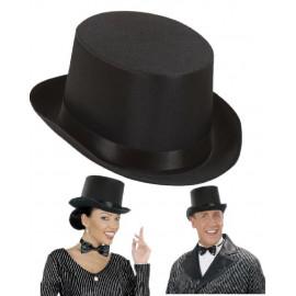 Cappello Cilindro Nero, Accessorio Costume Carnevale, Inglese '800 | pelusciamo store