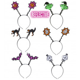 Cerchietto Halloween Riflettente Accessorio Carnevale PS 09052