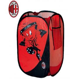 Cesto Portabiancheria Ac Milan Accessori squadre calcio | pelusciamo.com