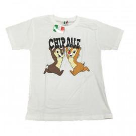 T-Shirt Donna Cip e Ciop Maglietta maniche corte Disney *13357