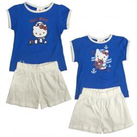 T-shirt e Pantaloncini Bambina Hello Kitty, Completino Bimba  | pelusciamo.com