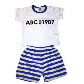 Completino estivo neonato 2 pezzi ufficiale Atalanta B.C. *02461 pelusciamo store