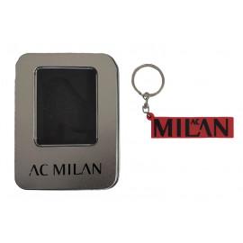 Portachiavi Con Logo A.C. Milan Accessori Ufficiali Calcio PS 02798