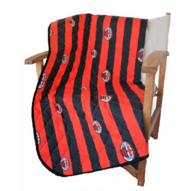 Plaid Cotone 130 x 160 cm Ac Milan accessori squadre calcio PS 10504