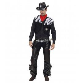 Costume Carnevale Adulto CowBoy Cow Boy Far West PS 19821