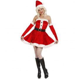 Costume Babbo Natale Donna , Miss Babba | pelusciamo.com