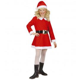 Costume Bambina Babbo Natale, Babba Natale | Pelusciamo.com
