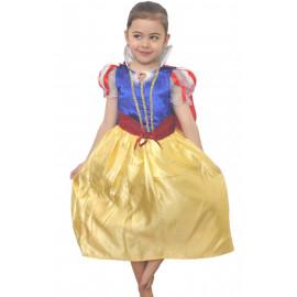 Costume Carnevale Bimba Principessa Biancaneve  Disney | pelusciamo.com