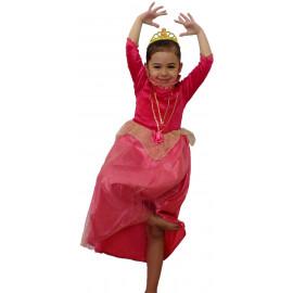 Costume Carnevale Bimba Principessa Aurora  Disney | pelusciamo.com