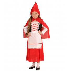 Costume Carnevale Bambina Cappuccetto Rosso | Pelusciamo.com