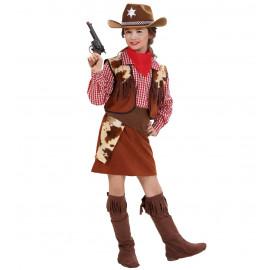 Costume Carnevale Bimba Cowgirl PS 19842 Travestimento Far West Pelusciamo Store Marchirolo