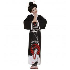 Costume Carnevale Bimba,Ragazza, Kimono Geisha Giapponese | Pelusciamo.com