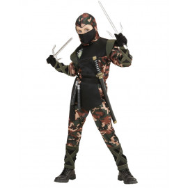 Costume Carnevale Bambino Soldato Ninja PS 24938 Pelusciamo Store Marchirolo