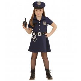 Costume Carnevale Bambina Poliziotta *22875 | Pelusciamo.com