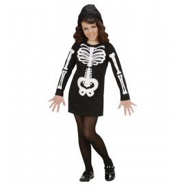 Costume Halloween Scheletro per Bambina e Ragazza | Pelusciamo.com