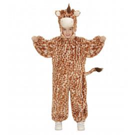 Costume Carnevale Bimbo, Bimba Giraffa in Peluche  PS 22805