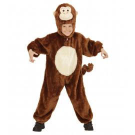Costume Carnevale Bimbo, Bimba Scimmia in Peluche   | Pelusciamo.com