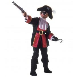 Costume Carnevale Bimbo Ragazzo Capitano Pirata  | pelusciamo store