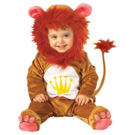 Costume Carnevale leoncino Bimbo, Animale Leone *05556 Primi Mesi