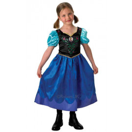 Costume Carnevale Bambina Anna di Frozen , Principesse Disney *02255 | pelusciamo.com