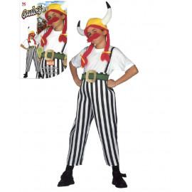 Costume Carnevale Bimbo,Ragazzo,Guerriero Celtico,Gallico  | Pelusciamo.com