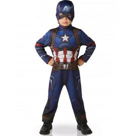 Costume Carnevale bambino Captain America The Avengers *05067