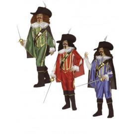 Costume Carnevale Bimbo,Ragazzo, Moschettire, Serie 3 Moschettieri  | Pelusciamo.com