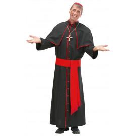 Costume Carnevale Uomo travestimento Cardinale, Prete | Pelusciamo store