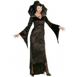 Costume Carnevale donna travestimento Halloween vapira spiderella *21812 | pelusciamo.com