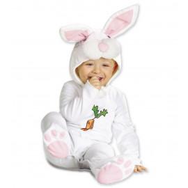 Costume Carnevale coniglietto Bimbo, travestimento coniglio *05564