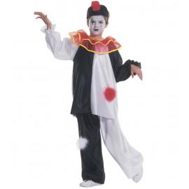 Costume carnevale pierrot travestimento per Bambini *05353