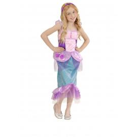 Costume carnevale sirenetta travestimento Bambine 05422 pelusciamo store