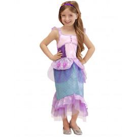 Costume carnevale sirenetta travestimento per Bambine 05366 pelusciamo store