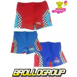 Costume da Bagno bambino Boxer Bimbo Cars Saetta Parigamba *11614