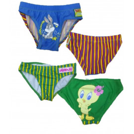 Costume da bagno bambini slip baby looney Tunes cartoni animati *01332