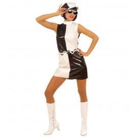 Costume Carnevale Donna Vestito Disco Anni 60 | Pelusciamo store
