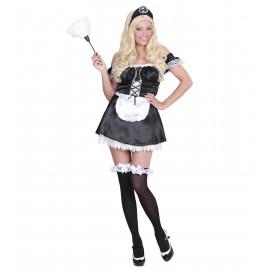 Costume Carnevale Donna Cameriera , French Maid | Pelusciamo store