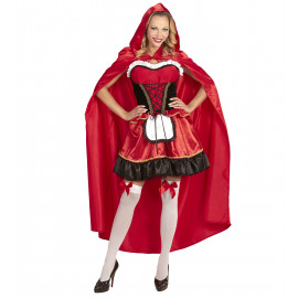 Costume Carnevale Donna Vestito Cappuccetto Rosso | Pelusciamo.com