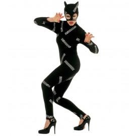 Costume Carnevale Donna Gatta *22751 Abito Cat Girl | Pelusciamo.com